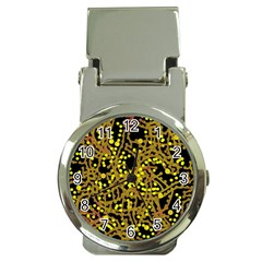 Yellow emotions Money Clip Watches