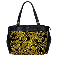 Yellow emotions Office Handbags (2 Sides)