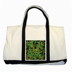 Green emotions Two Tone Tote Bag