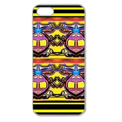 Spirit  Bulgarian Bee Apple Seamless Iphone 5 Case (clear)