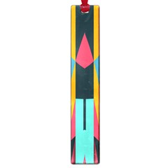 Shapes And Stripes                                                                                                             large Book Mark