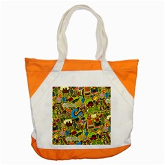 C Pattern Accent Tote Bag