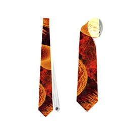 Chemical Biology Bacteria Bacterium Neckties (two Side)