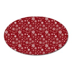 Christmas Day Oval Magnet