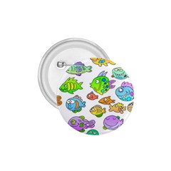 Fishes Col Fishing Fish 1.75  Buttons