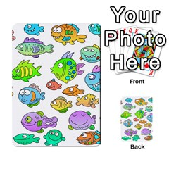 Fishes Col Fishing Fish Multi-purpose Cards (Rectangle)