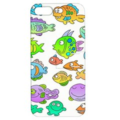 Fishes Col Fishing Fish Apple iPhone 5 Hardshell Case with Stand