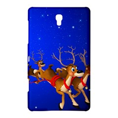 Holidays Christmas Deer Santa Claus Horns Samsung Galaxy Tab S (8 4 ) Hardshell Case