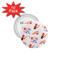 Olympics Swimming Sports 1.75  Buttons (10 pack)