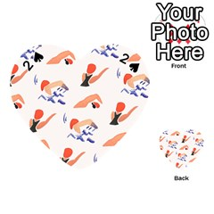 Olympics Swimming Sports Playing Cards 54 (heart)