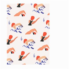 Olympics Swimming Sports Large Garden Flag (two Sides)