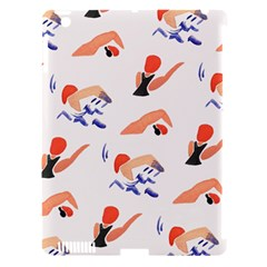 Olympics Swimming Sports Apple Ipad 3/4 Hardshell Case (compatible With Smart Cover)