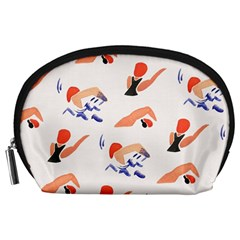 Olympics Swimming Sports Accessory Pouches (Large)