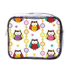 Owl Mini Toiletries Bags