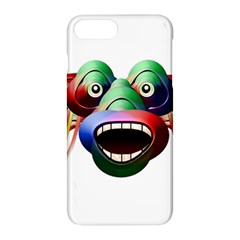 Futuristic Funny Monster Character Face Apple Iphone 7 Plus Hardshell Case
