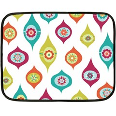 Ornaments Double Sided Fleece Blanket (mini)
