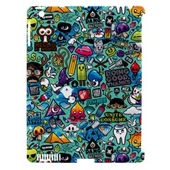 Monster Apple Ipad 3/4 Hardshell Case (compatible With Smart Cover)