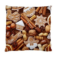 Nuts Cookies Christmas Standard Cushion Case (one Side)