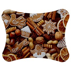 Nuts Cookies Christmas Jigsaw Puzzle Photo Stand (bow)