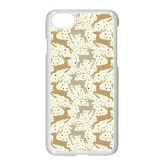 Paper Gift Deer Apple Iphone 7 Seamless Case (white)