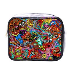 Moster Mask Mini Toiletries Bags