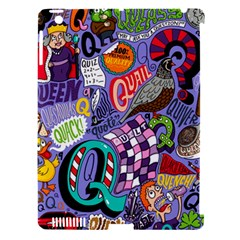 Q Pattern Apple Ipad 3/4 Hardshell Case (compatible With Smart Cover)
