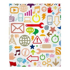 Sign Shower Curtain 60  X 72  (medium)