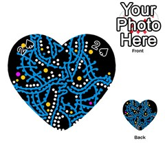 Blue fantasy Playing Cards 54 (Heart)
