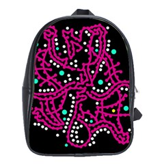 Pink fantasy School Bags(Large)