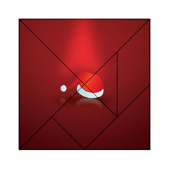 Red Christmas Had Acrylic Tangram Puzzle (6  X 6 )