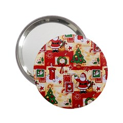 Santa Clause Mail Bird Snow 2.25  Handbag Mirrors