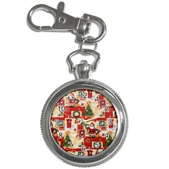 Santa Clause Mail Bird Snow Key Chain Watches