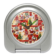 Santa Clause Mail Bird Snow Travel Alarm Clocks