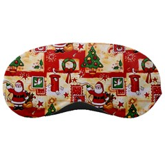 Santa Clause Mail Bird Snow Sleeping Masks