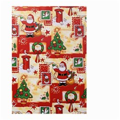 Santa Clause Mail Bird Snow Small Garden Flag (two Sides)