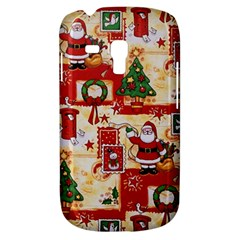 Santa Clause Mail Bird Snow Samsung Galaxy S3 Mini I8190 Hardshell Case