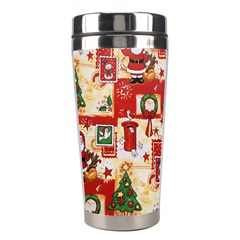 Santa Clause Mail Bird Snow Stainless Steel Travel Tumblers