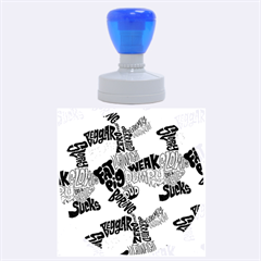 Tals Stupid Rubber Round Stamps (large)