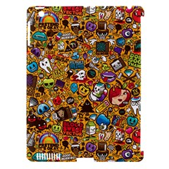 Retro Face Apple Ipad 3/4 Hardshell Case (compatible With Smart Cover)