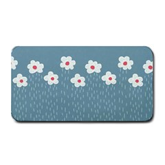 Cloudy Sky With Rain And Flowers Medium Bar Mats