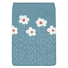 Cloudy Sky With Rain And Flowers Flap Covers (l)