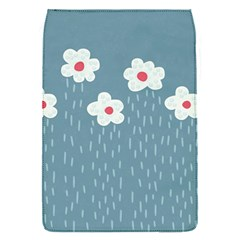 Cloudy Sky With Rain And Flowers Flap Covers (s)