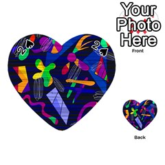 Colorful dream Playing Cards 54 (Heart)