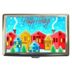 Christmas magical landscape  Cigarette Money Cases