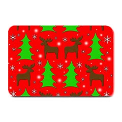 Reindeer and Xmas trees pattern Plate Mats