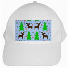Reindeer and Xmas trees  White Cap