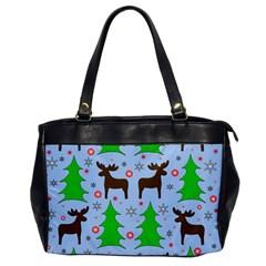 Reindeer and Xmas trees  Office Handbags