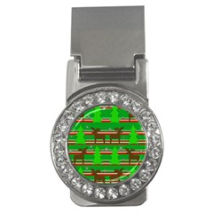 Christmas trees and reindeer pattern Money Clips (CZ)