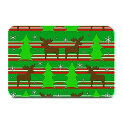 Christmas trees and reindeer pattern Plate Mats