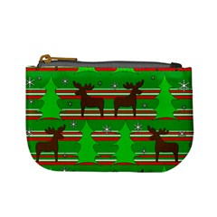 Christmas trees and reindeer pattern Mini Coin Purses
